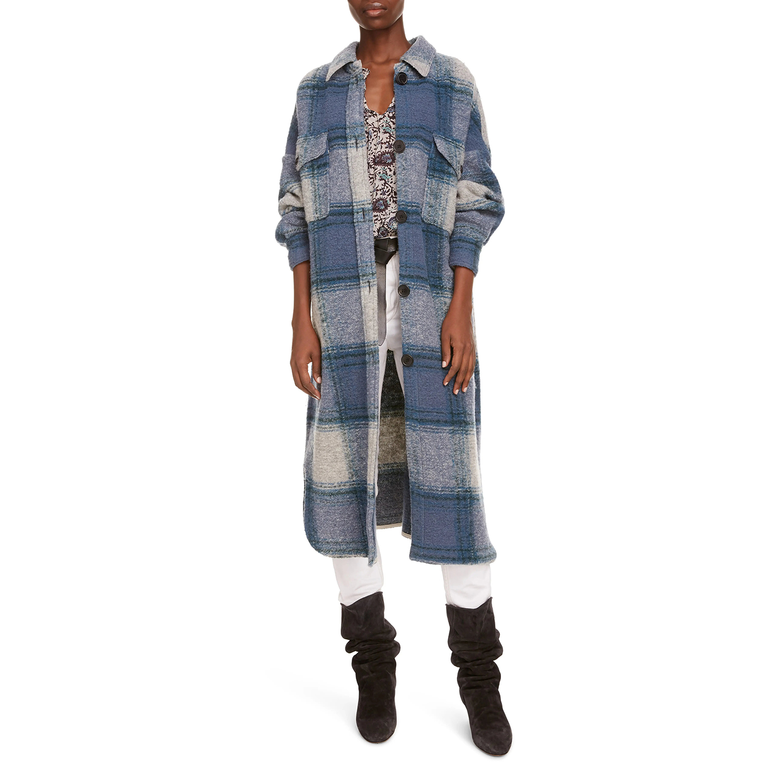 Plaid Duster Jackets