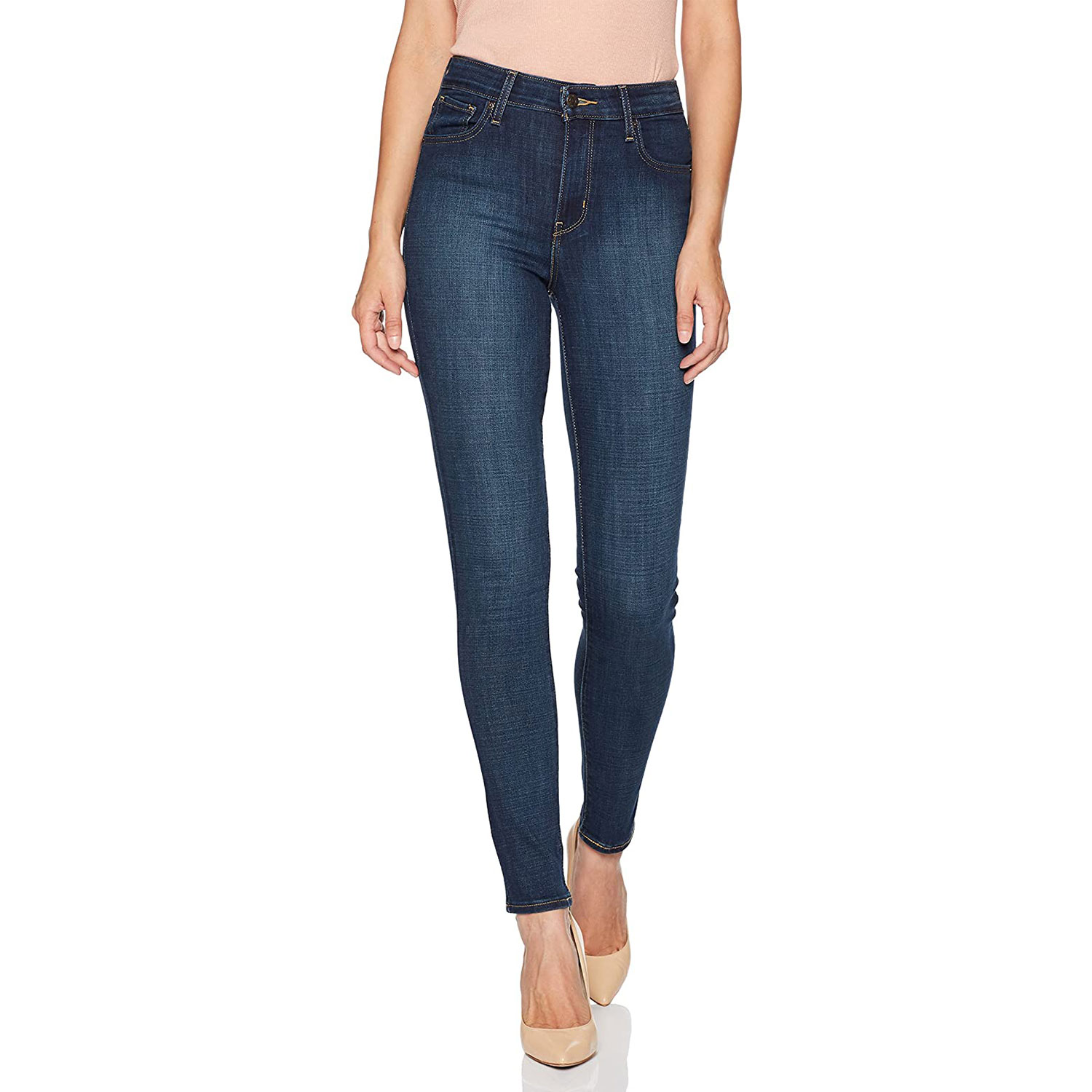 levis womens high rise skinny jeans