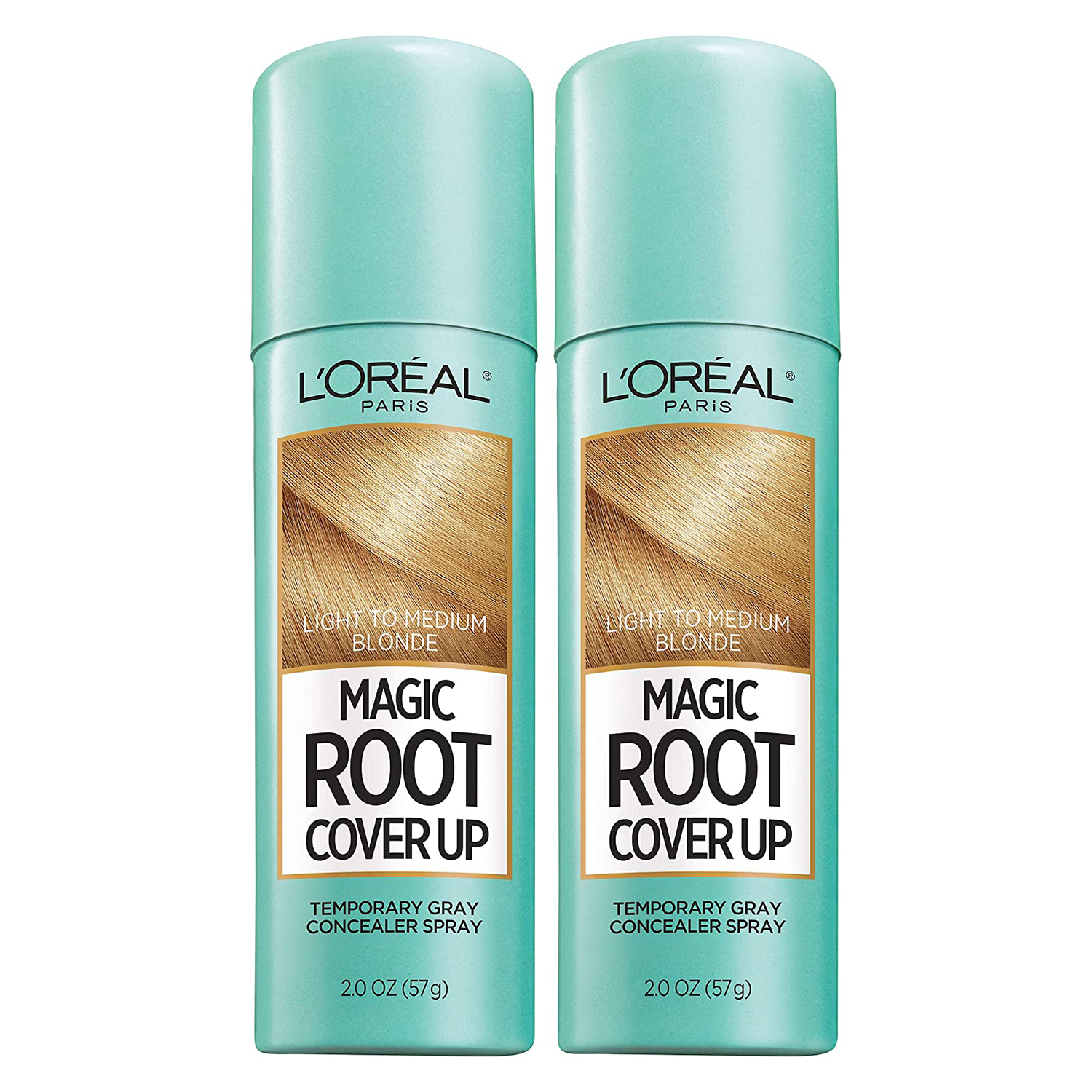 L'Oreal Paris Hair Color Magic Root Cover Up Temporary Colored Concealer Spray