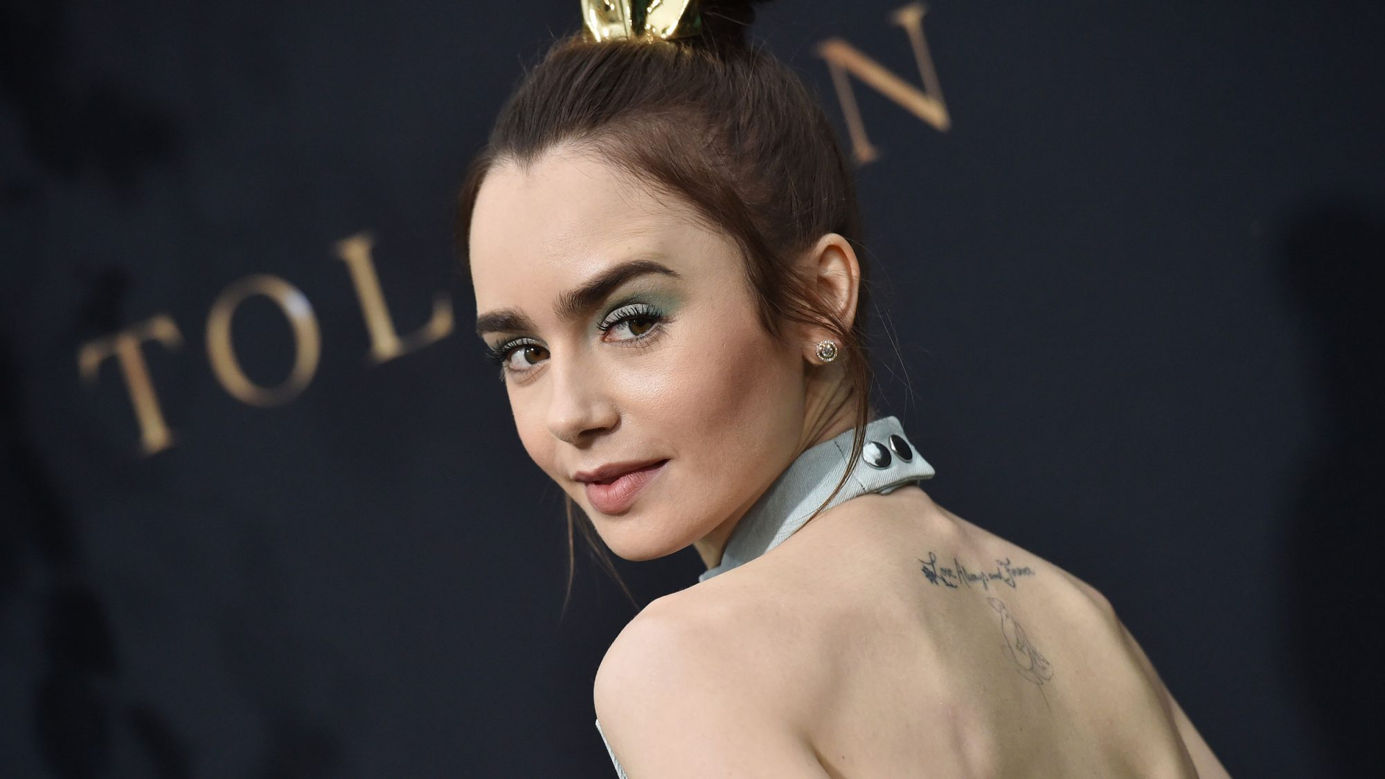 "The Anti-Aging Serum Lily Collins Uses Every Day for a ""Healthy Glow"""