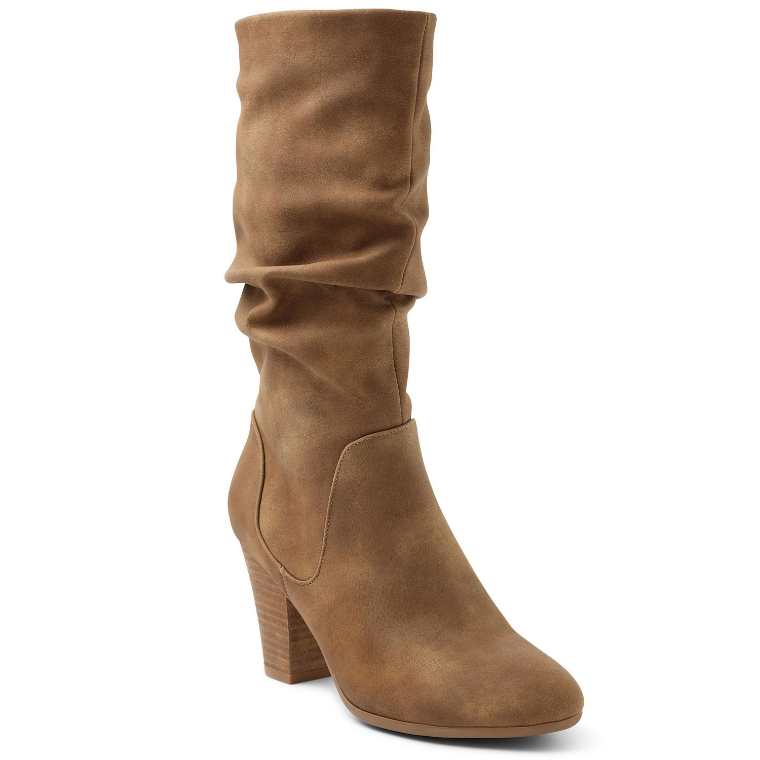strasburg slouch boots, tan
