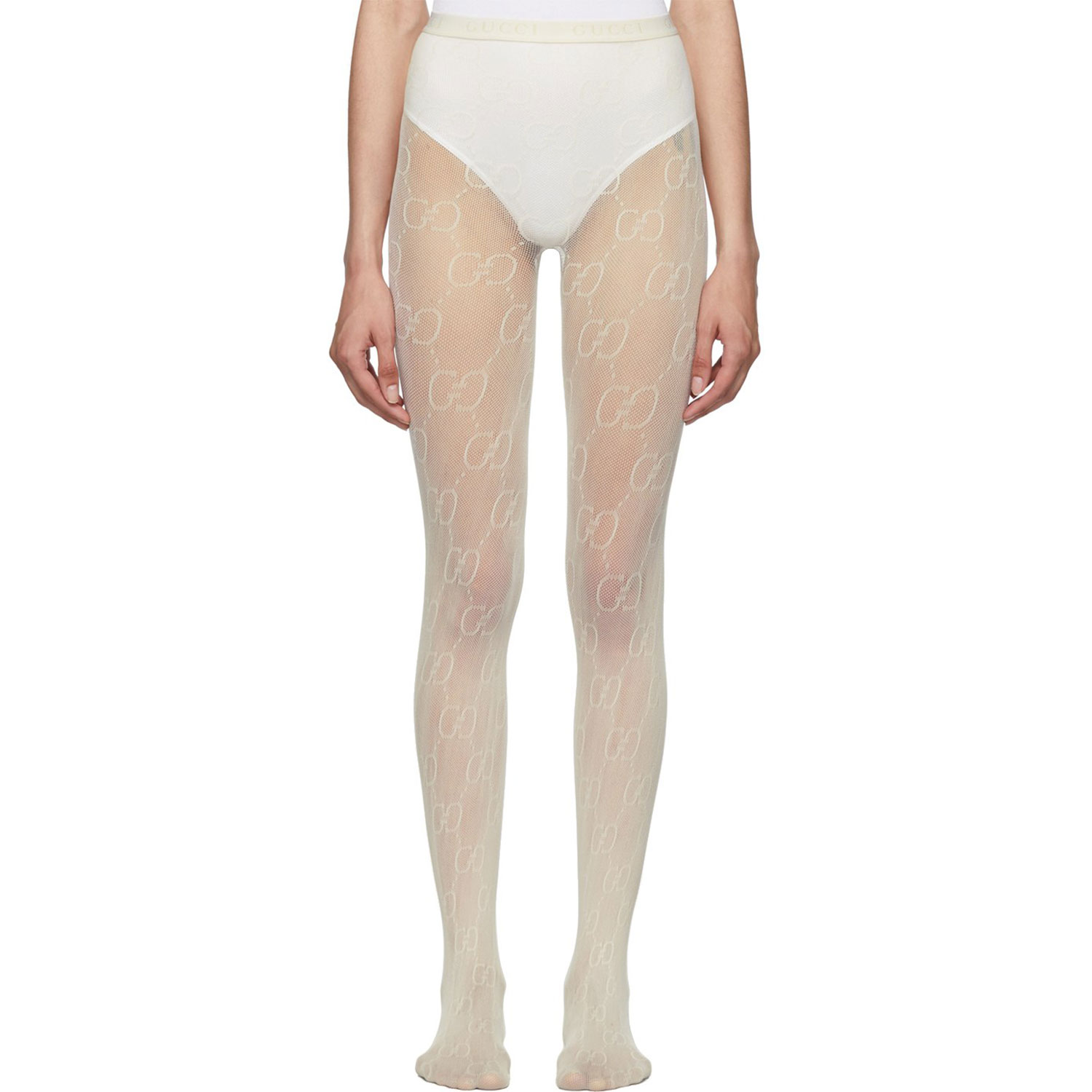 gucci off white tights