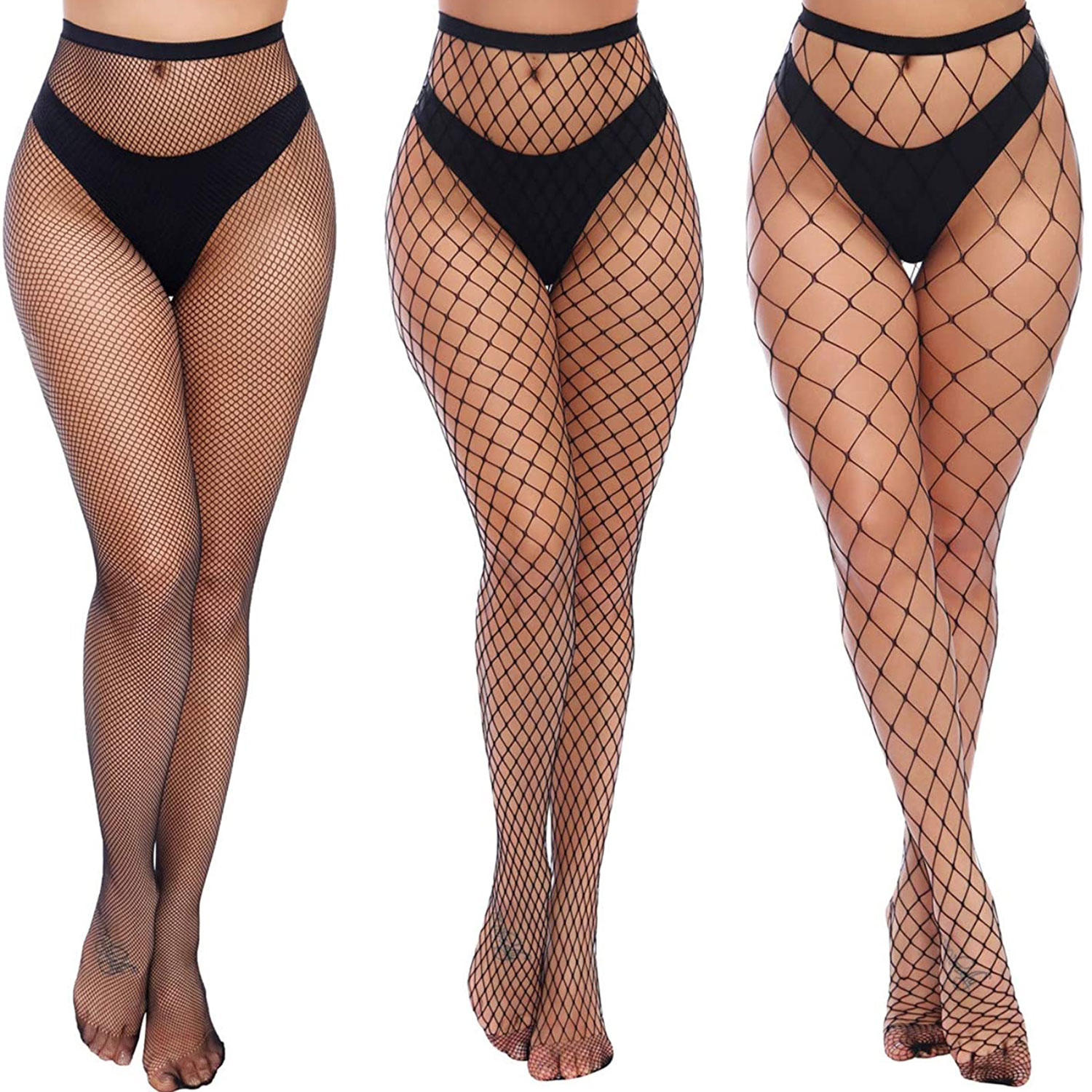 charmnight women's high waist tights fishnet stockings