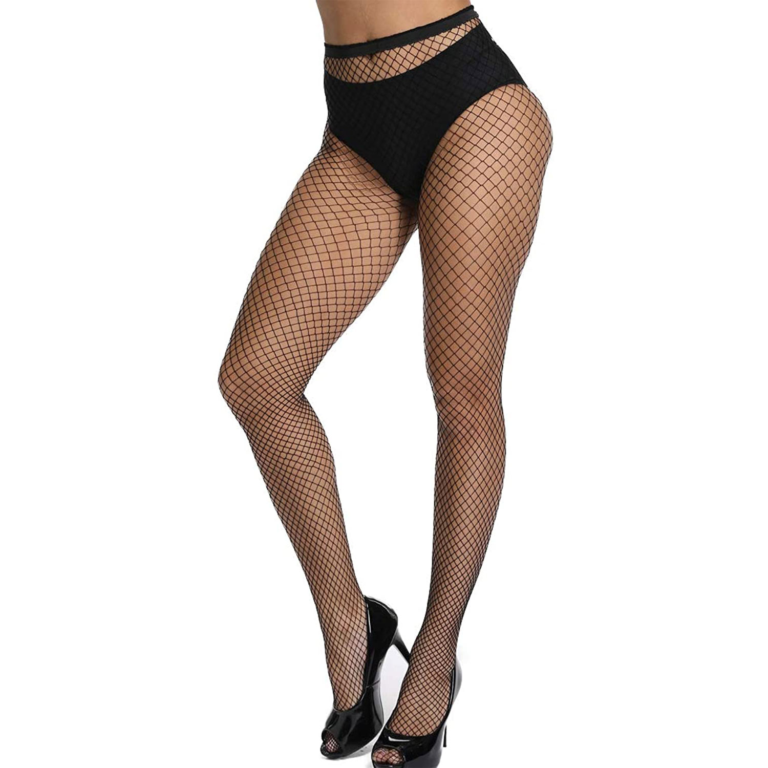 high waist thigh high stockings medium gride