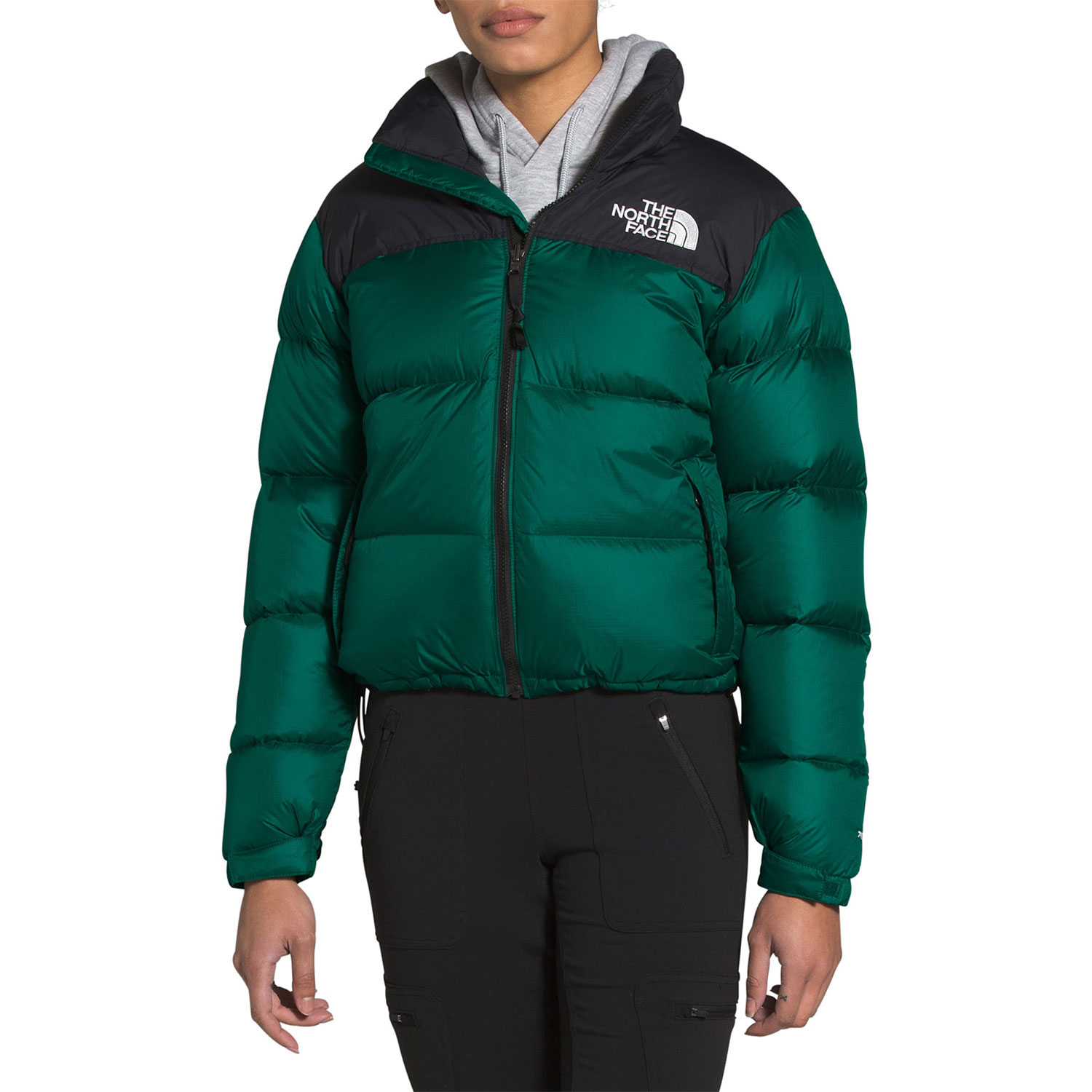 nordstrom north face packable shiny quilted down jacket