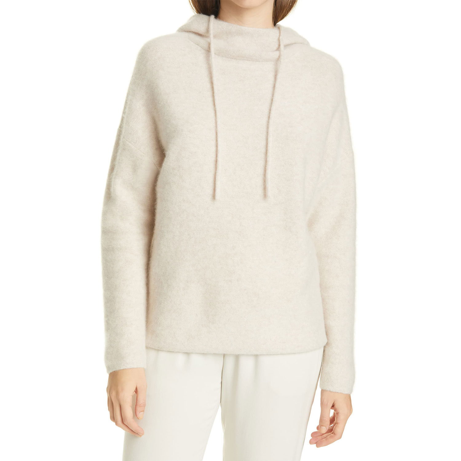 nordstrom vince clean edge cashmere hoodie