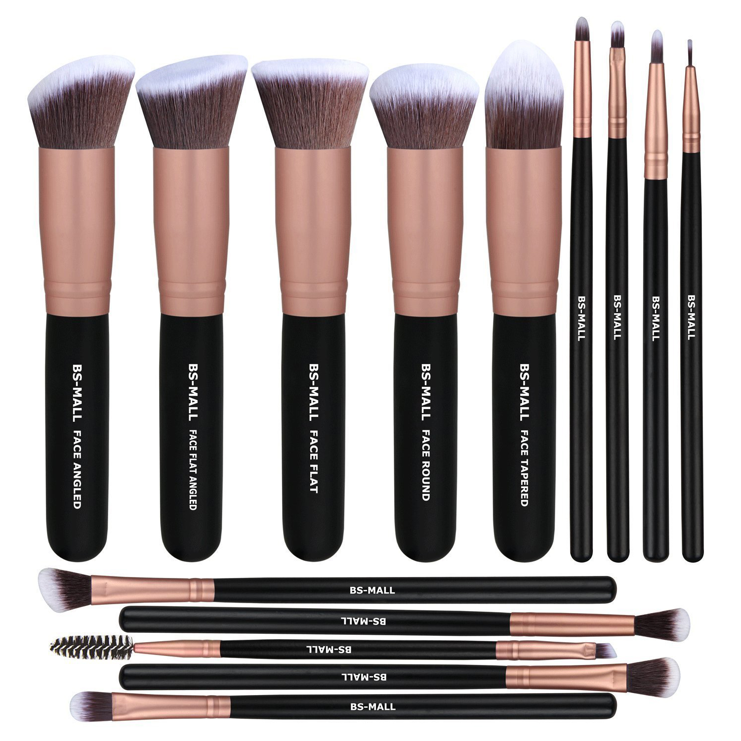makeup brushes premium synthetic foundation powder concealers eye shadows