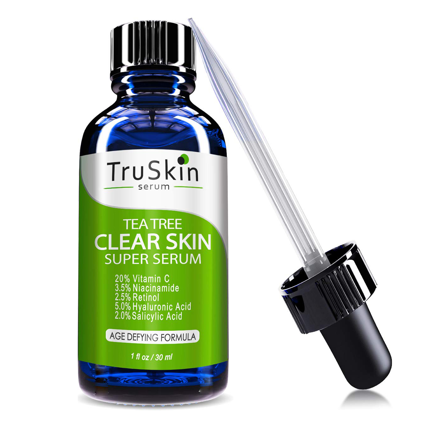 TruSkin Tea Tree Clear Skin Serum with Vitamin C