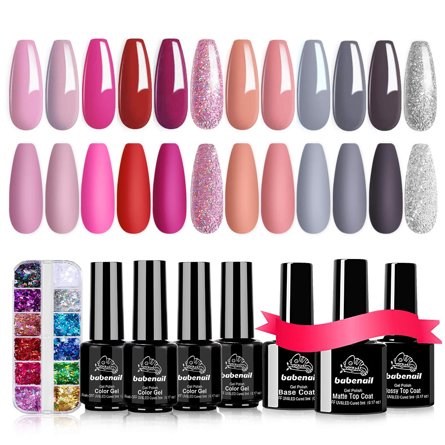 Gel Nail Polish Set