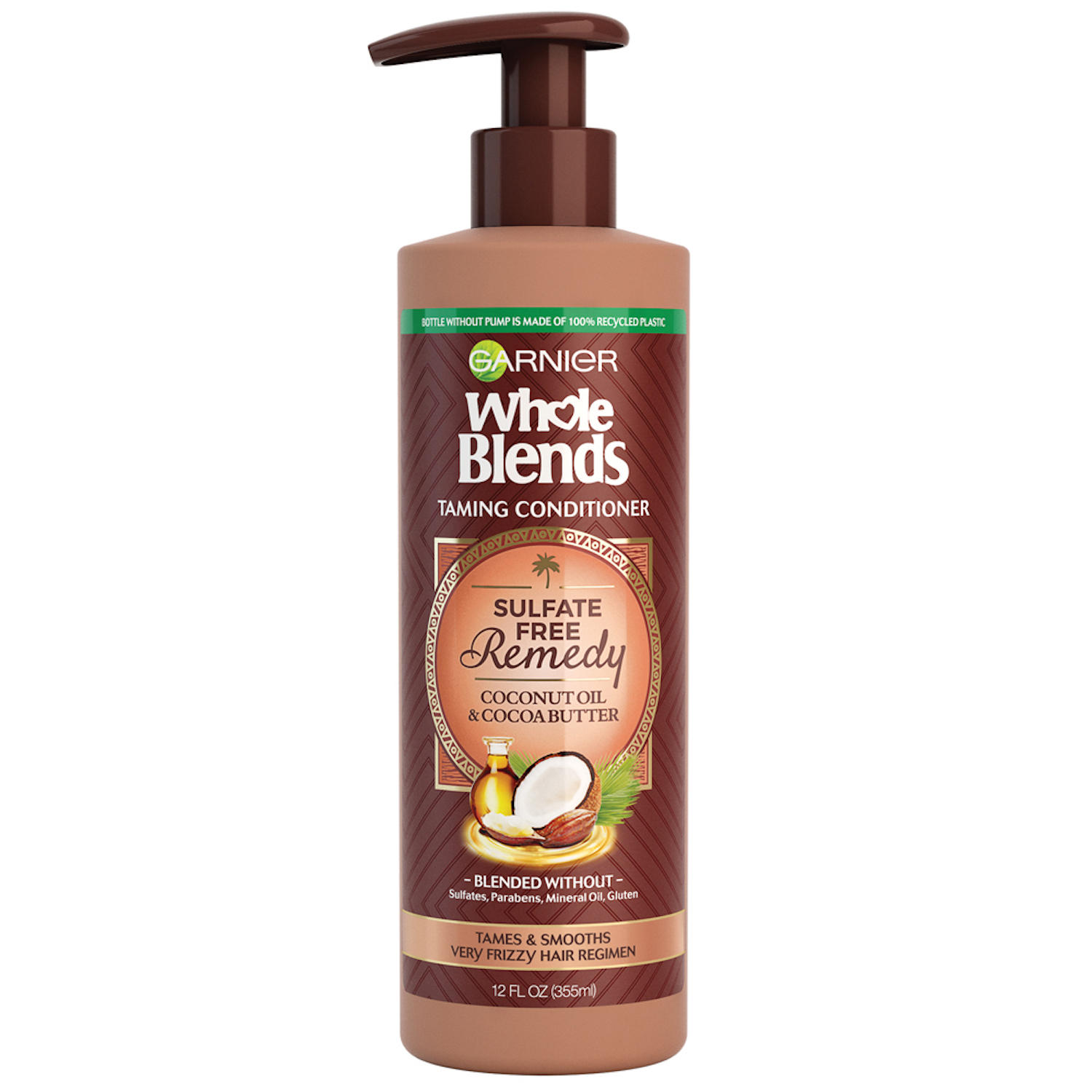 Garnier Whole Blends Sulfate Free Remedy Coconut Oil Conditioner for Frizzy Hair
