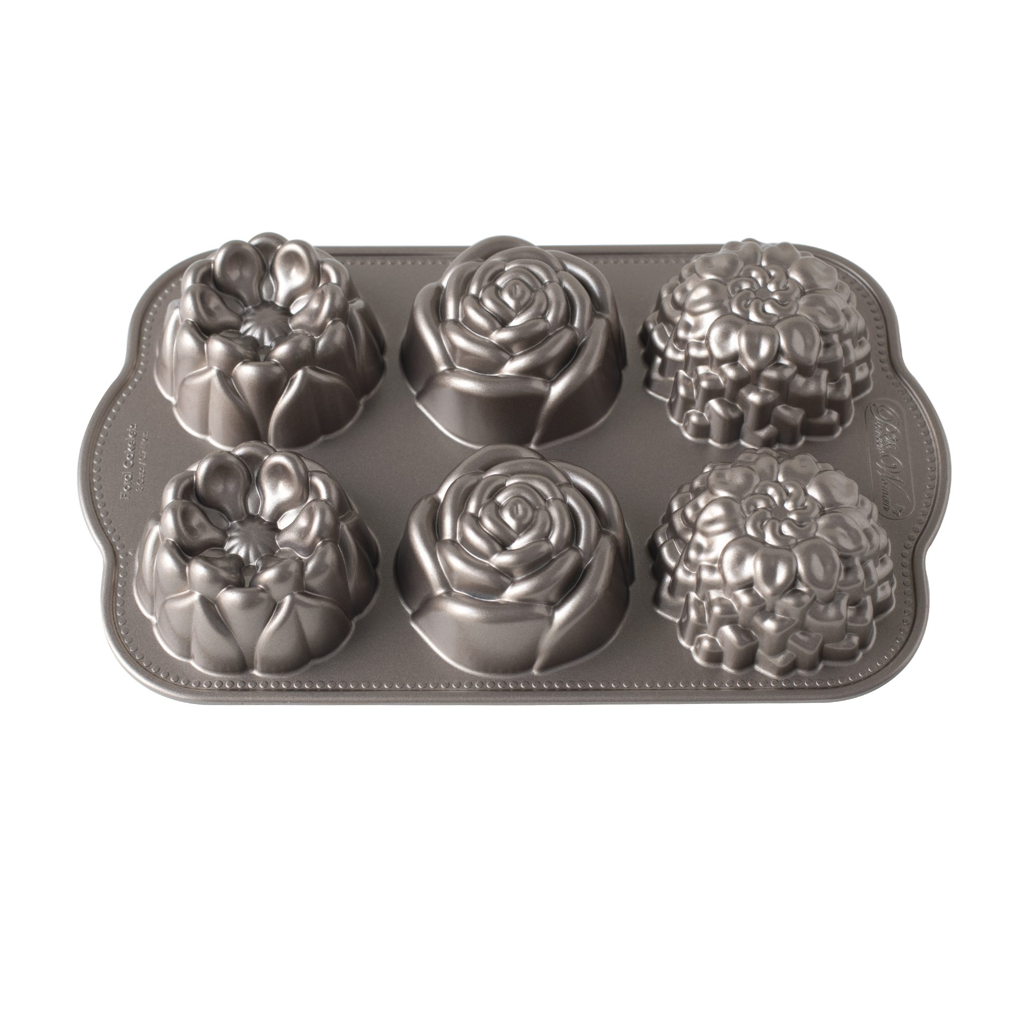 The Pioneer Woman Floral Nonstick Cast Cakelet Pan