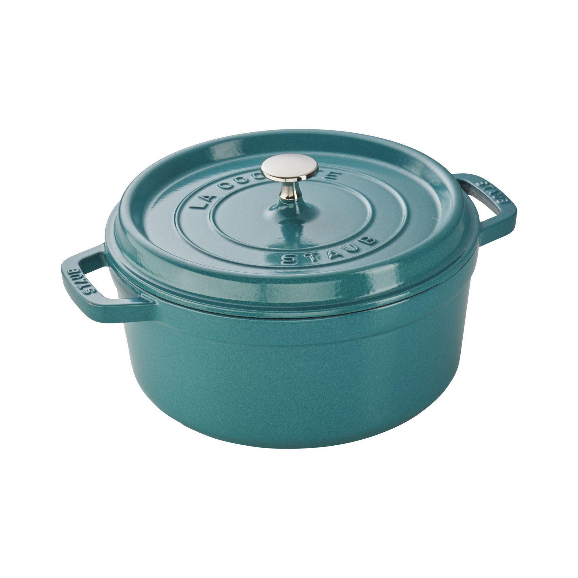 Turquoise Staub 4 Quart Cocotte