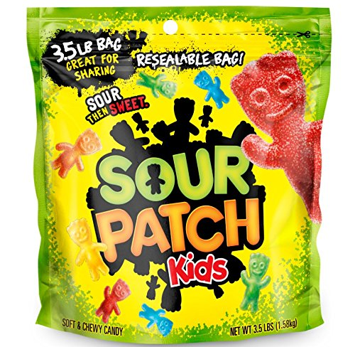 large bag of sour patch kids
