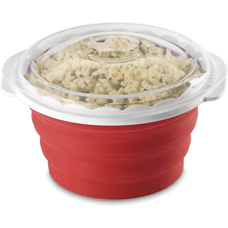 Cuisinart Microwave Popcorn Maker in red