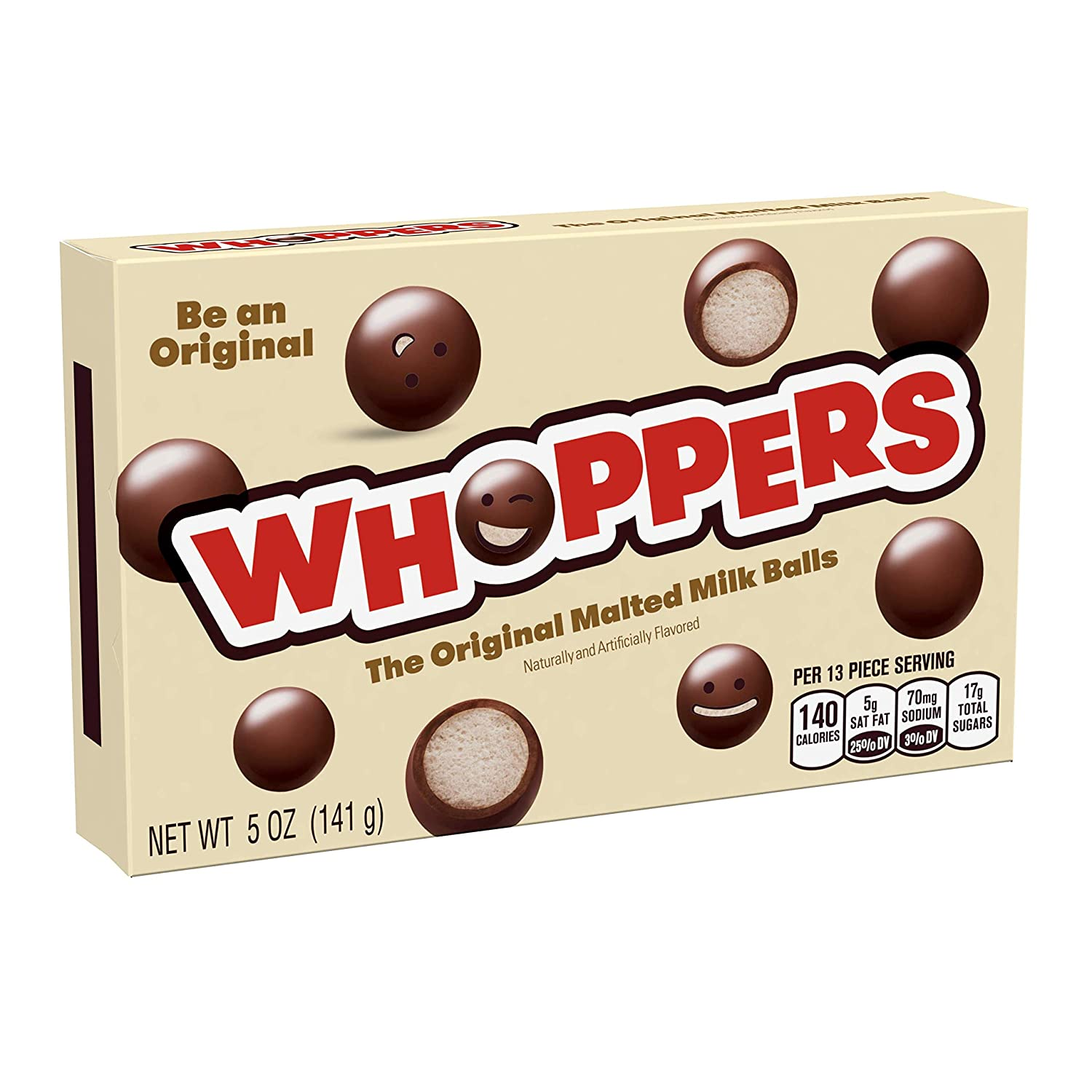 box of whoppers candy