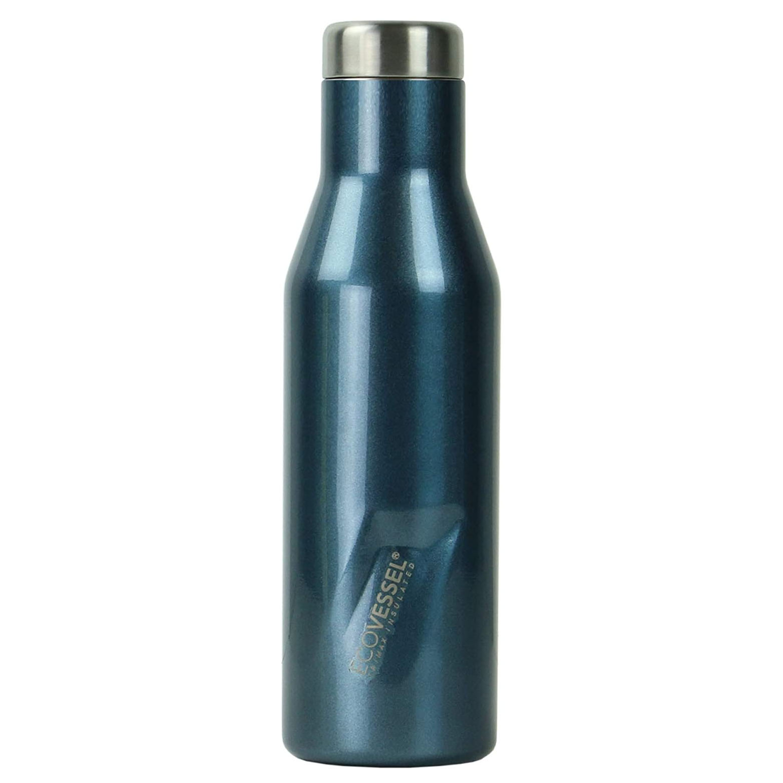 EcoVessel Aspen TriMax Vacuum Insulated Stainless Steel Water & Wine Bottle