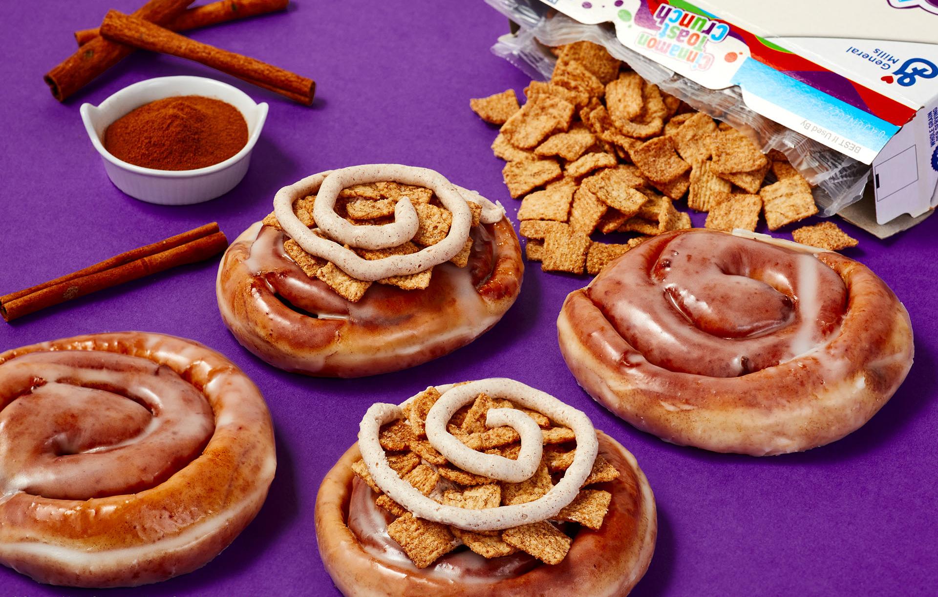 Krispy Kreme Cinnamon Rolls