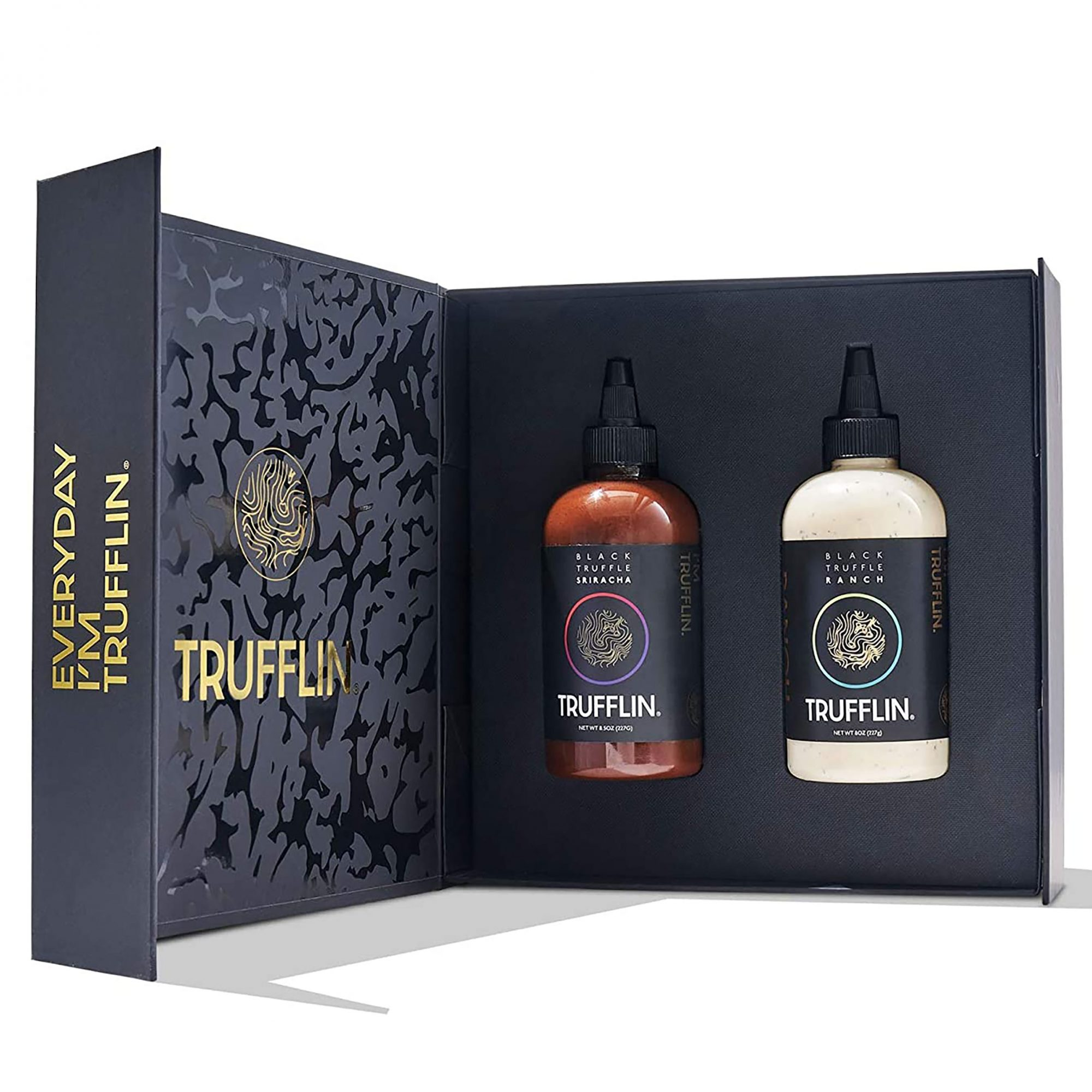 Set of two trufflin sauces in black box