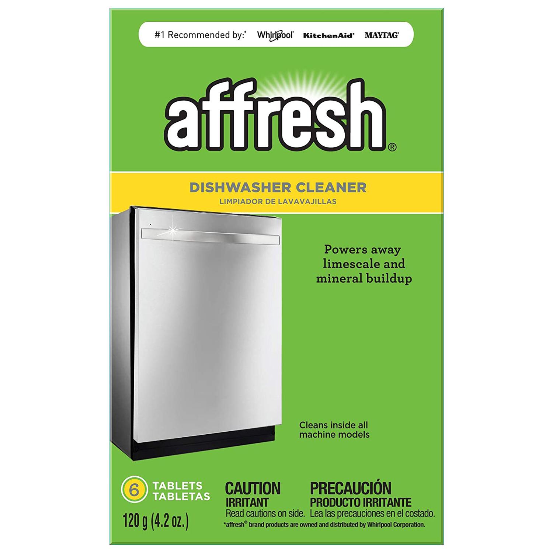 Affresh W10549851 Dishwasher Cleaner 6 Tablets Formulated