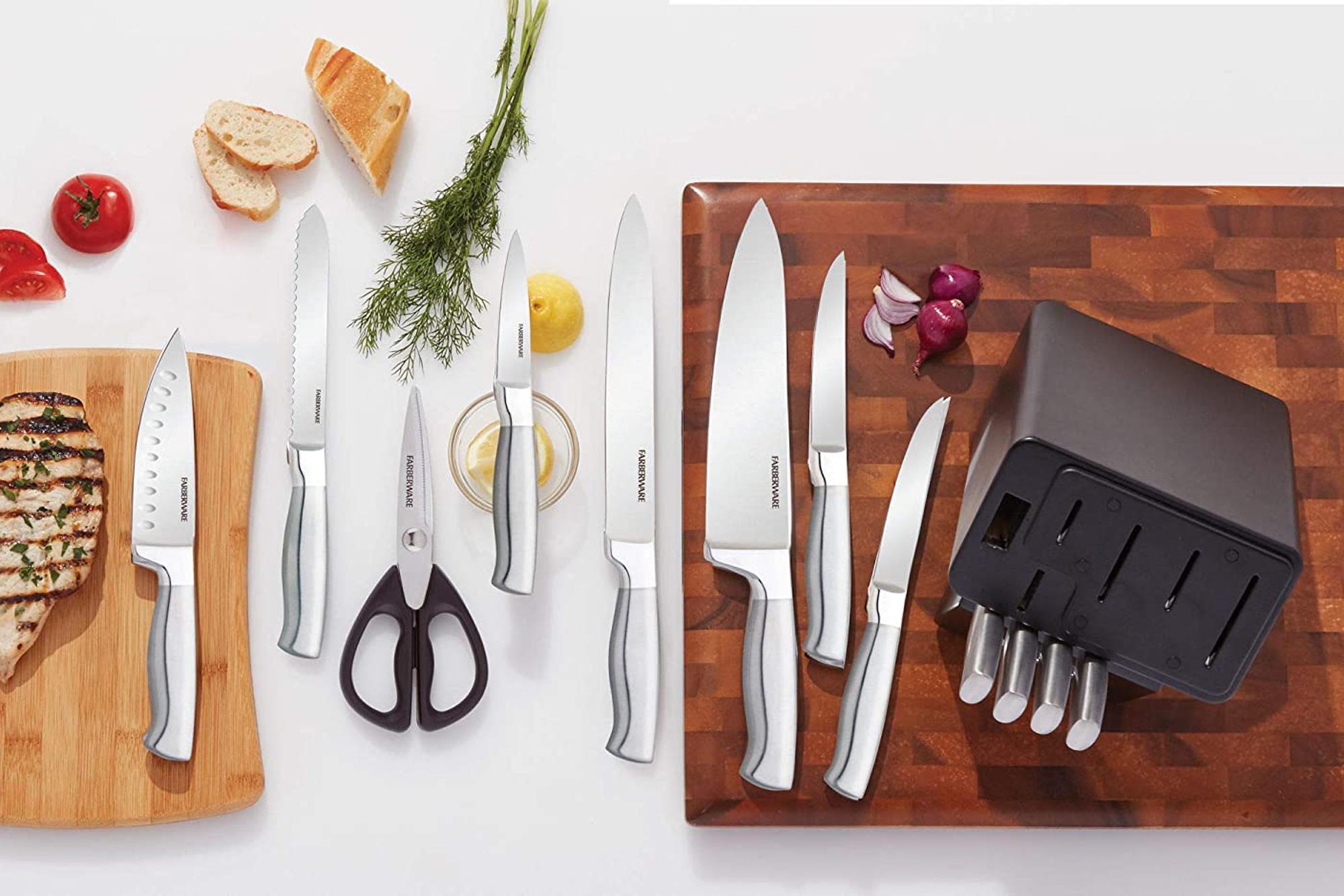 farberware knife block