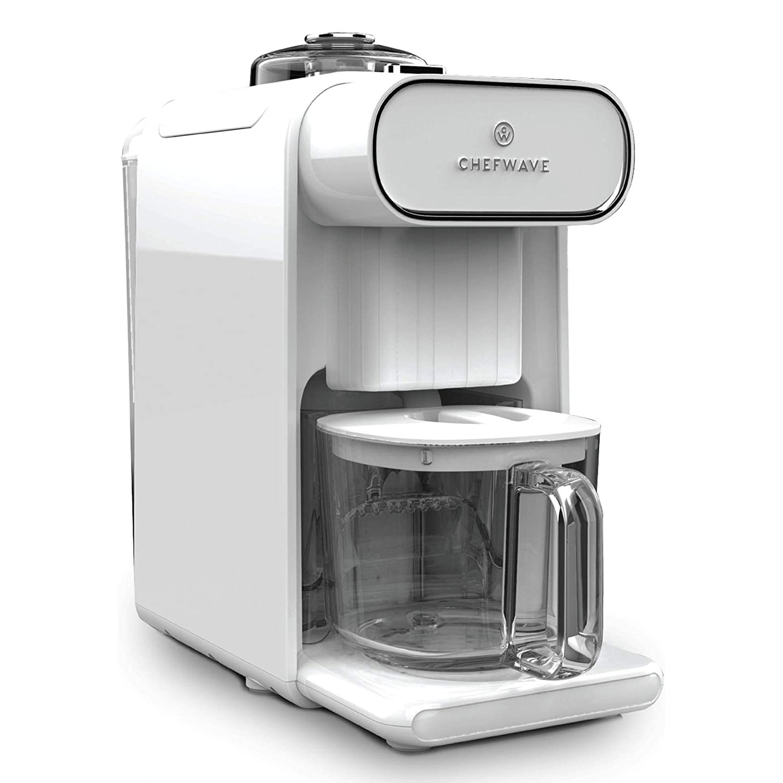 ChefWave Milkmade Dairy Alternative Vegan Milk Maker with 6 Plant-Based Auto Programs