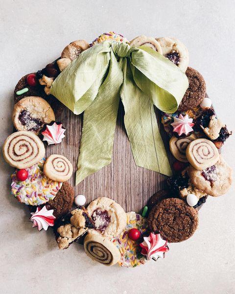 cookie wreath by joy the baker