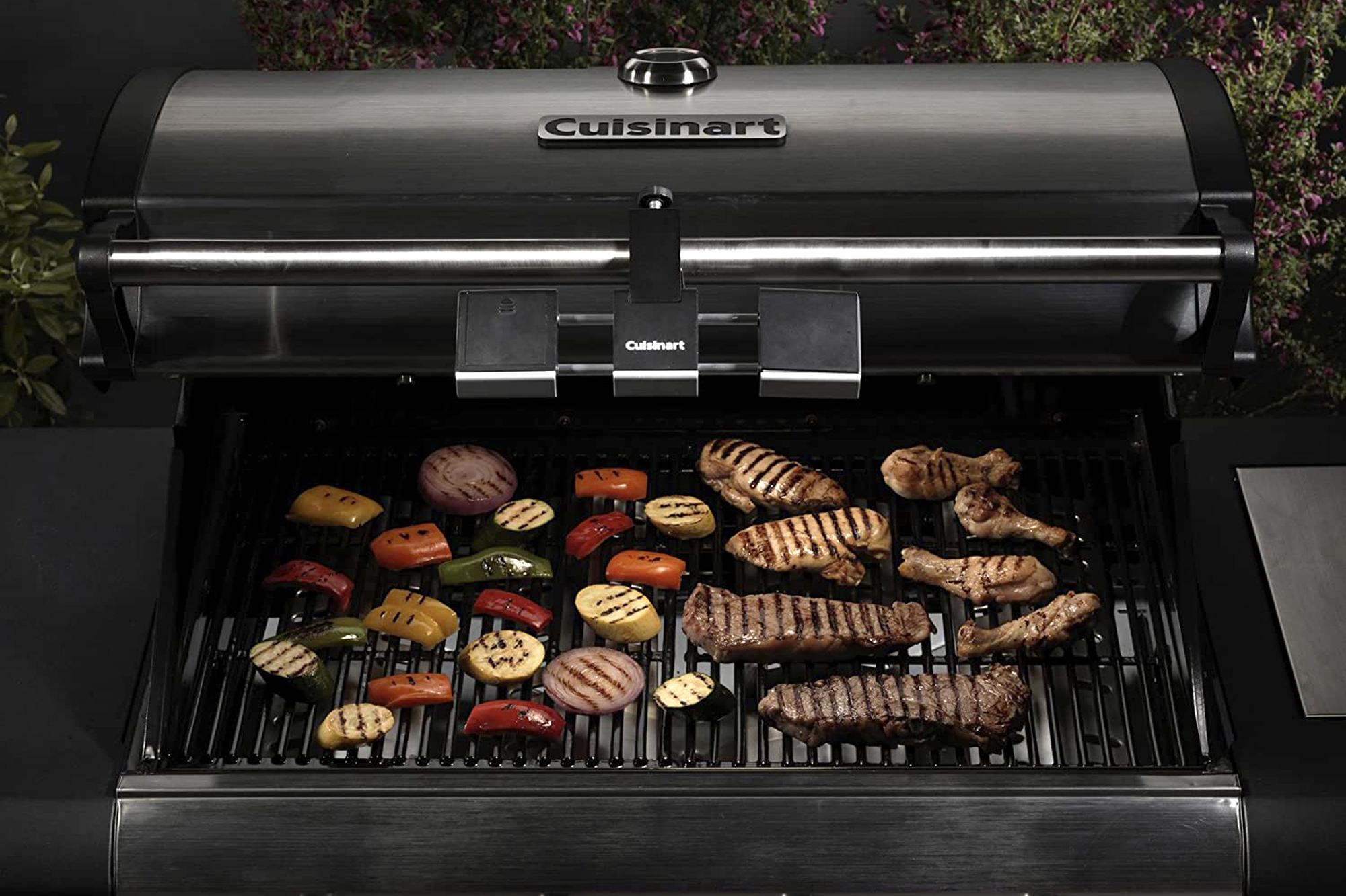 cuisinart grill light