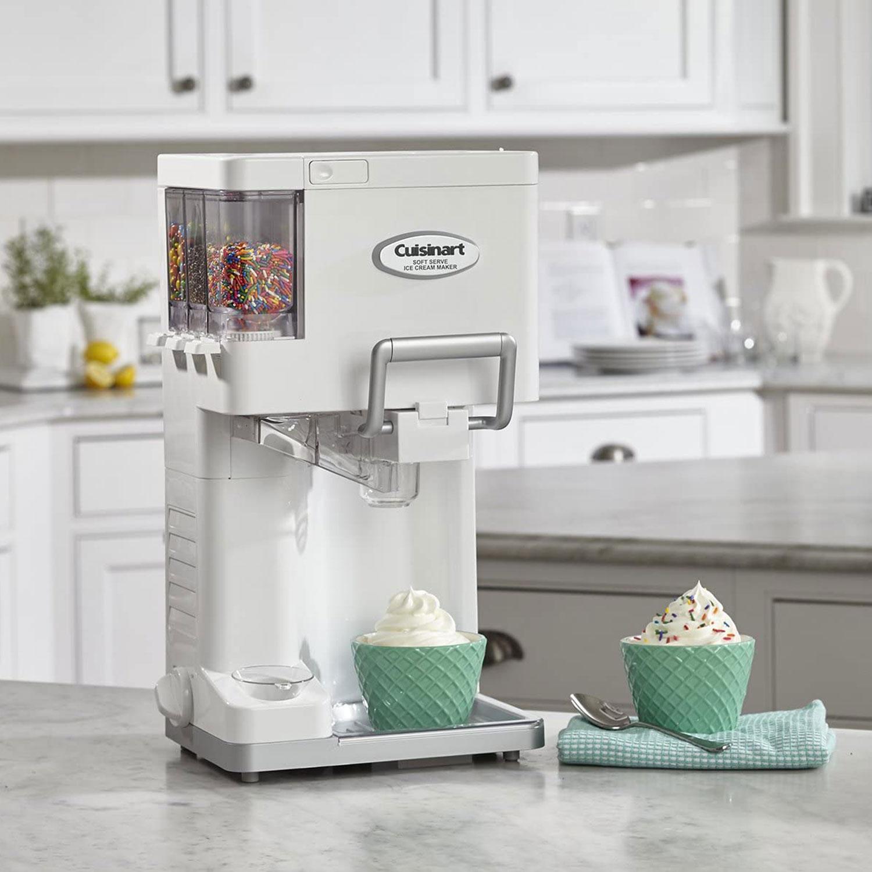 Cuisinart ICE-45P1 Mix Serve 1.5-Quart Soft Service Ice Cream Maker