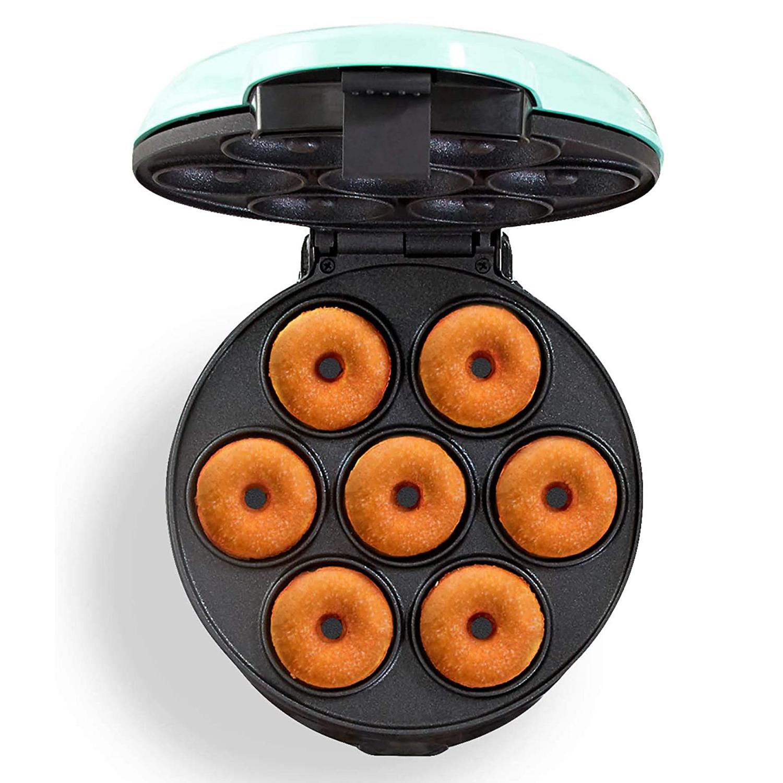 Dash Mini Donut Maker Machine for Kid-Friendly Breakfast, Snacks, Desserts