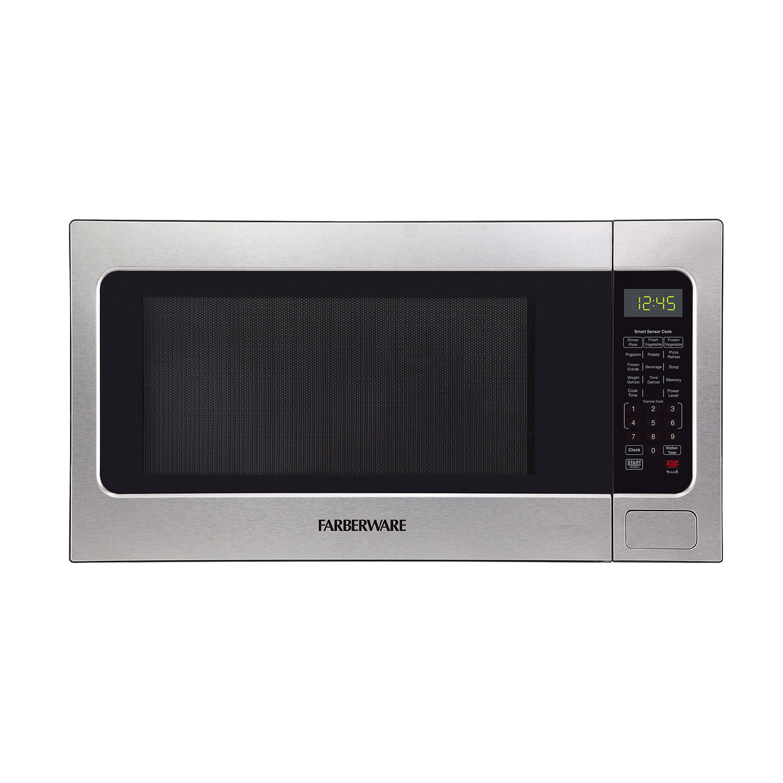 farberware microwave oven stainless steel