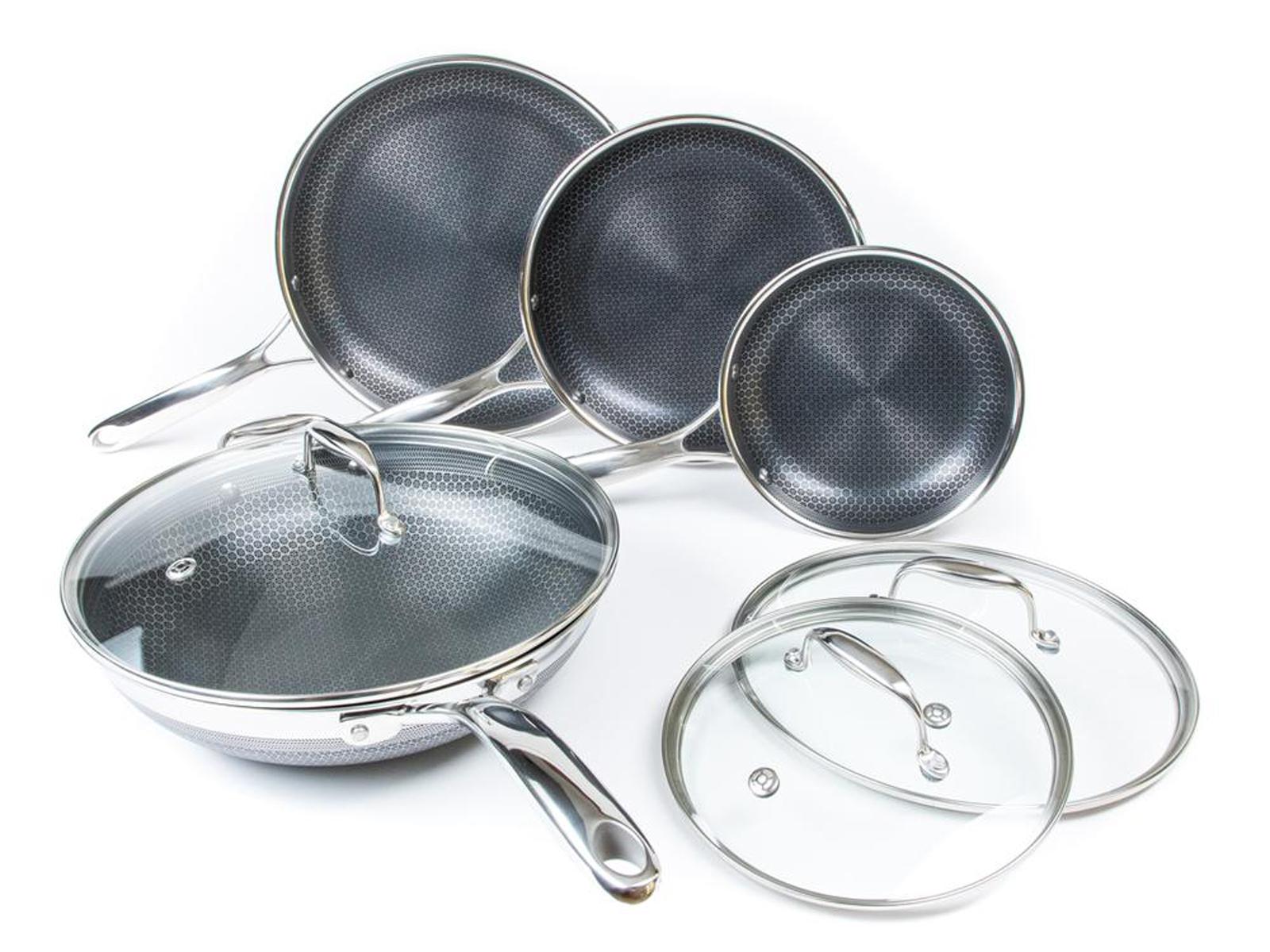 Hexclad cookware set