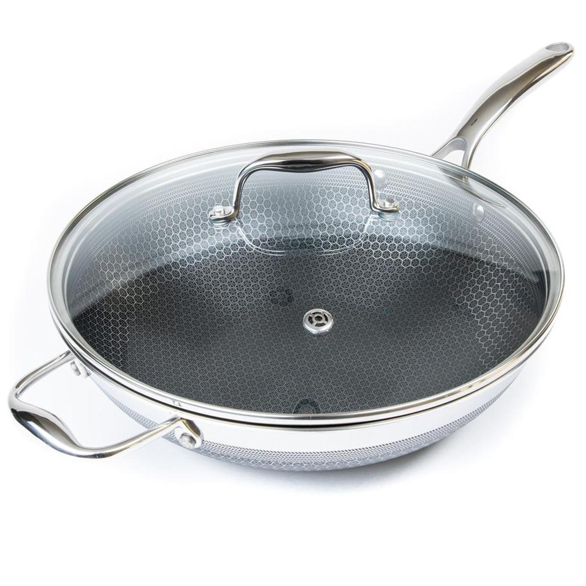 Hexclad wok