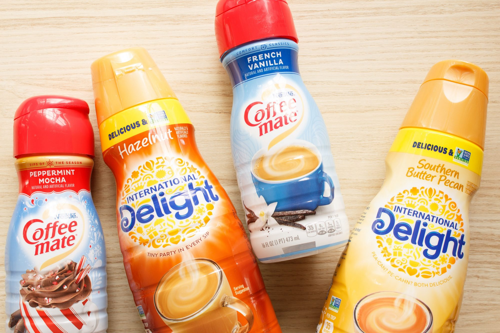 flavored coffee creamers