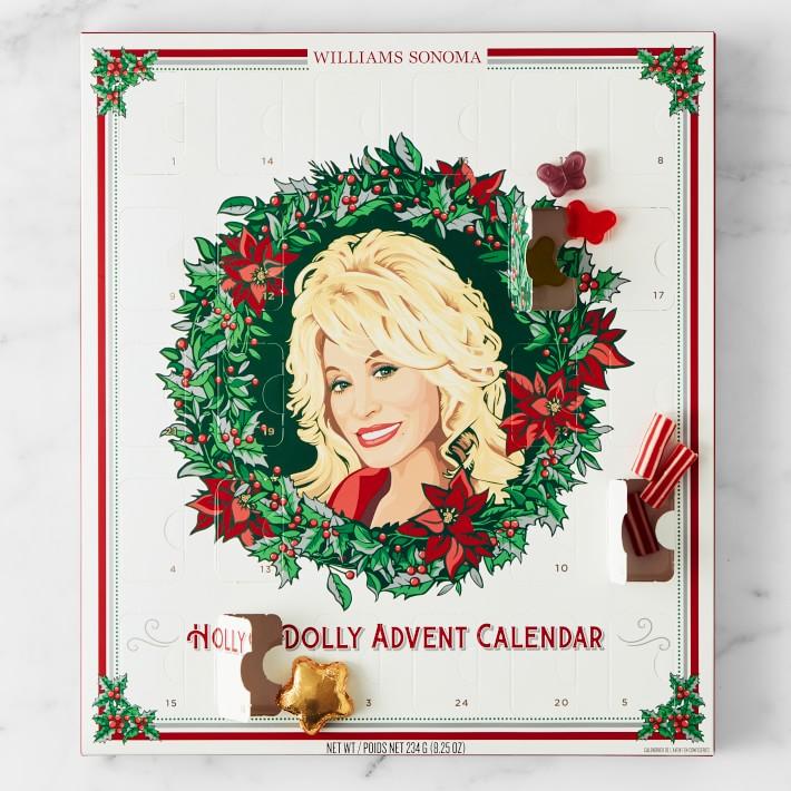 dolly parton advent calendar