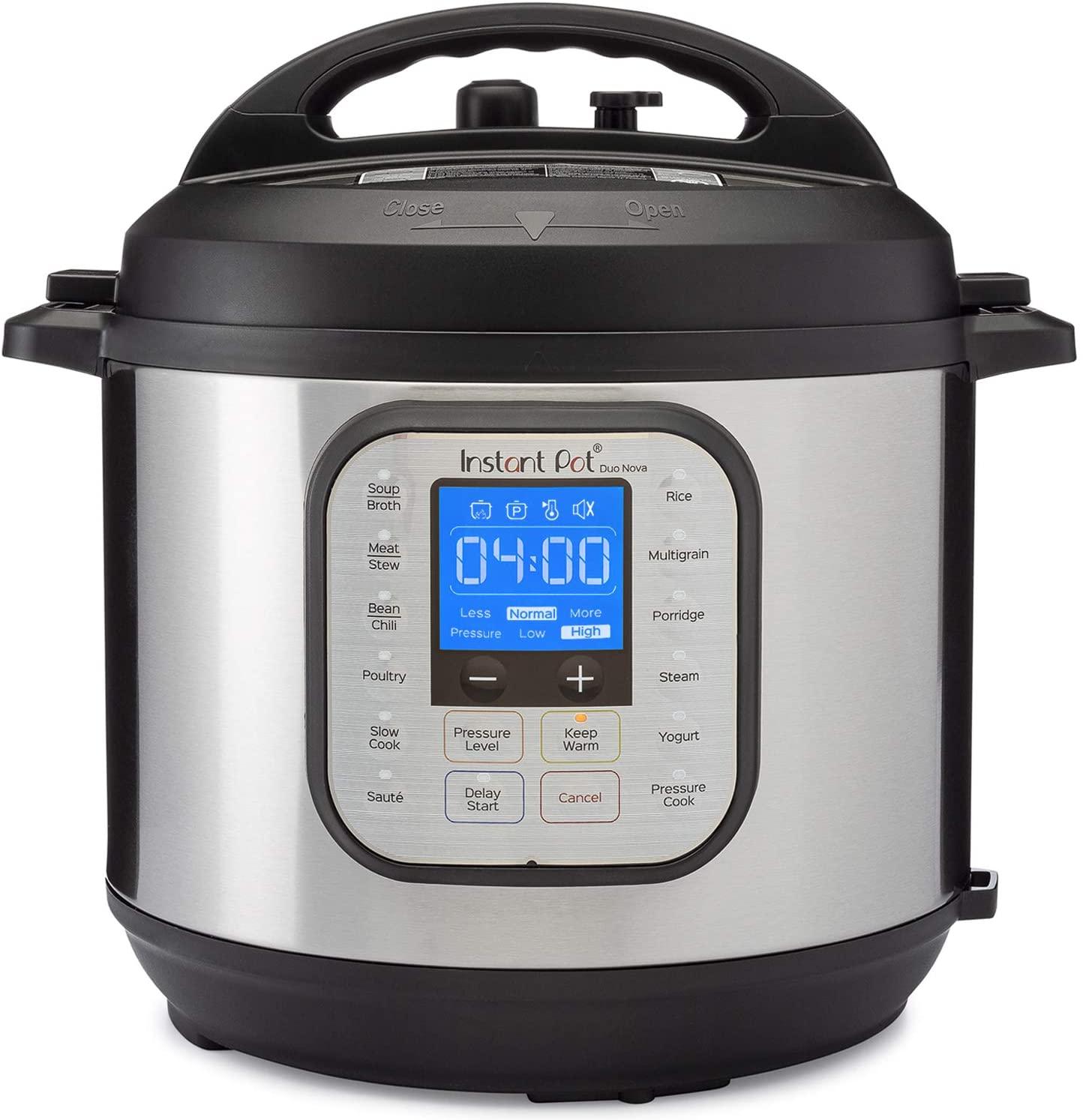 Instant Pot Duo Nova Pressure Cooker 7 in 1, 6 Qt