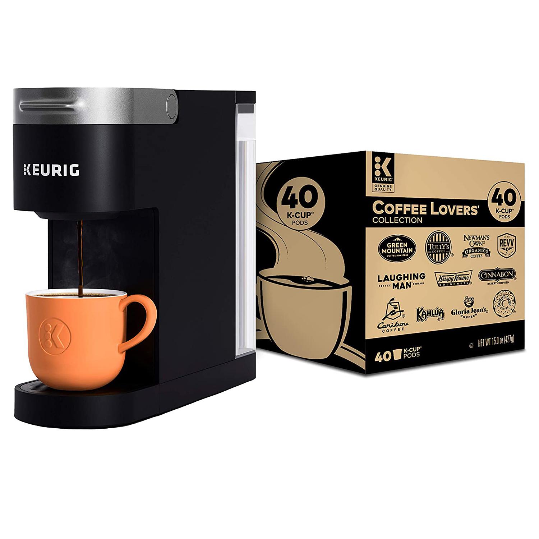 Keurig K-Slim Coffee Maker, Single Serve K-Cup Pod Coffee Brewer
