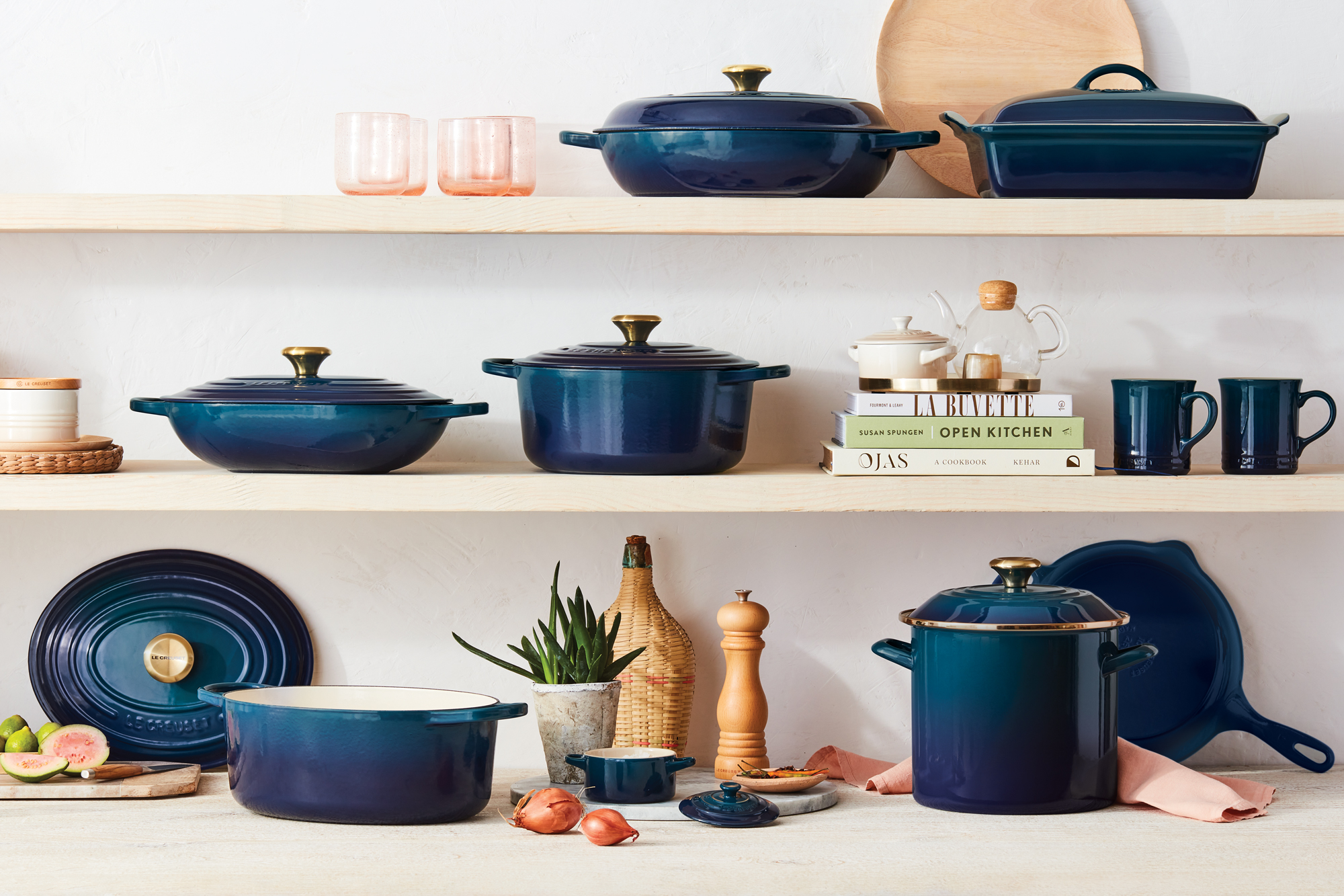 le creuset agave collection