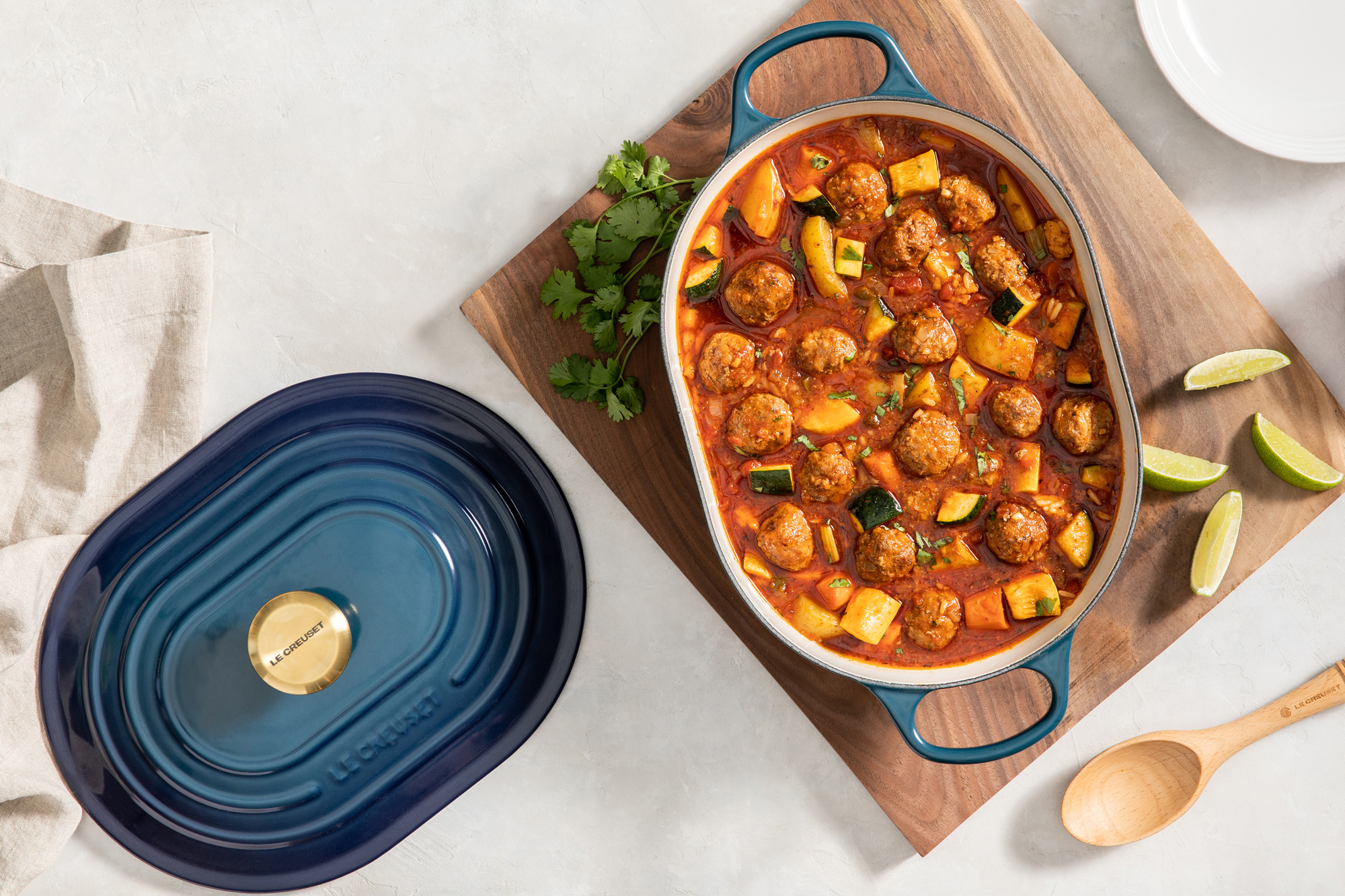 Le Creuset agave oval oven