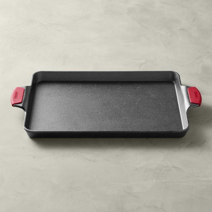 Lodge Bakeware Seasoned Cast Iron Baking Pan with Grips