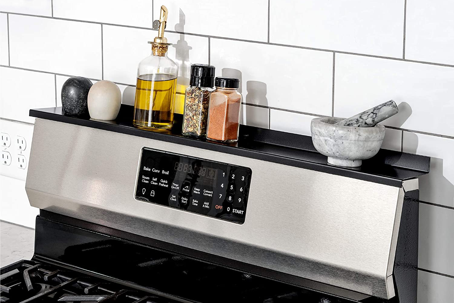 Magnetic Kitchen Stove Shelf