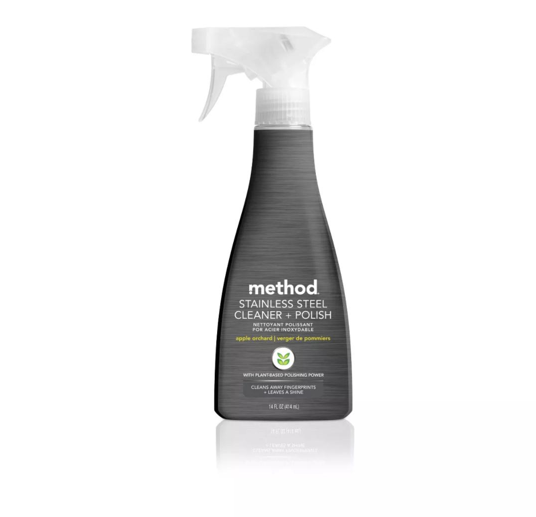 method stainless cleaner