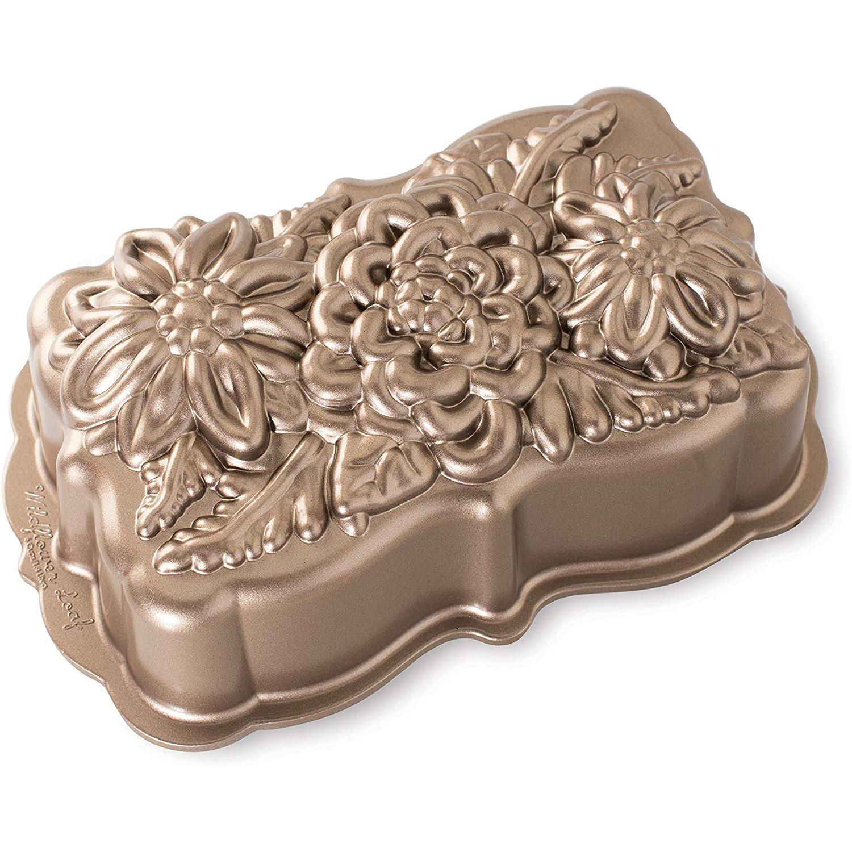 Nordic Ware Wildflower Loaf Pan