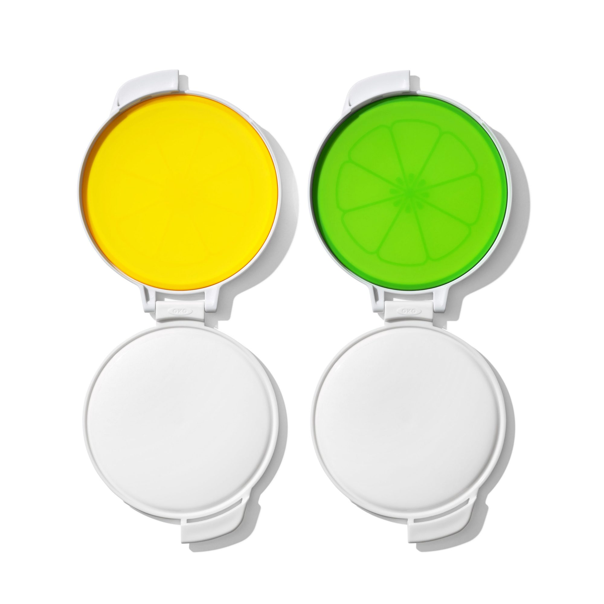 two citrus savers in green and yellow