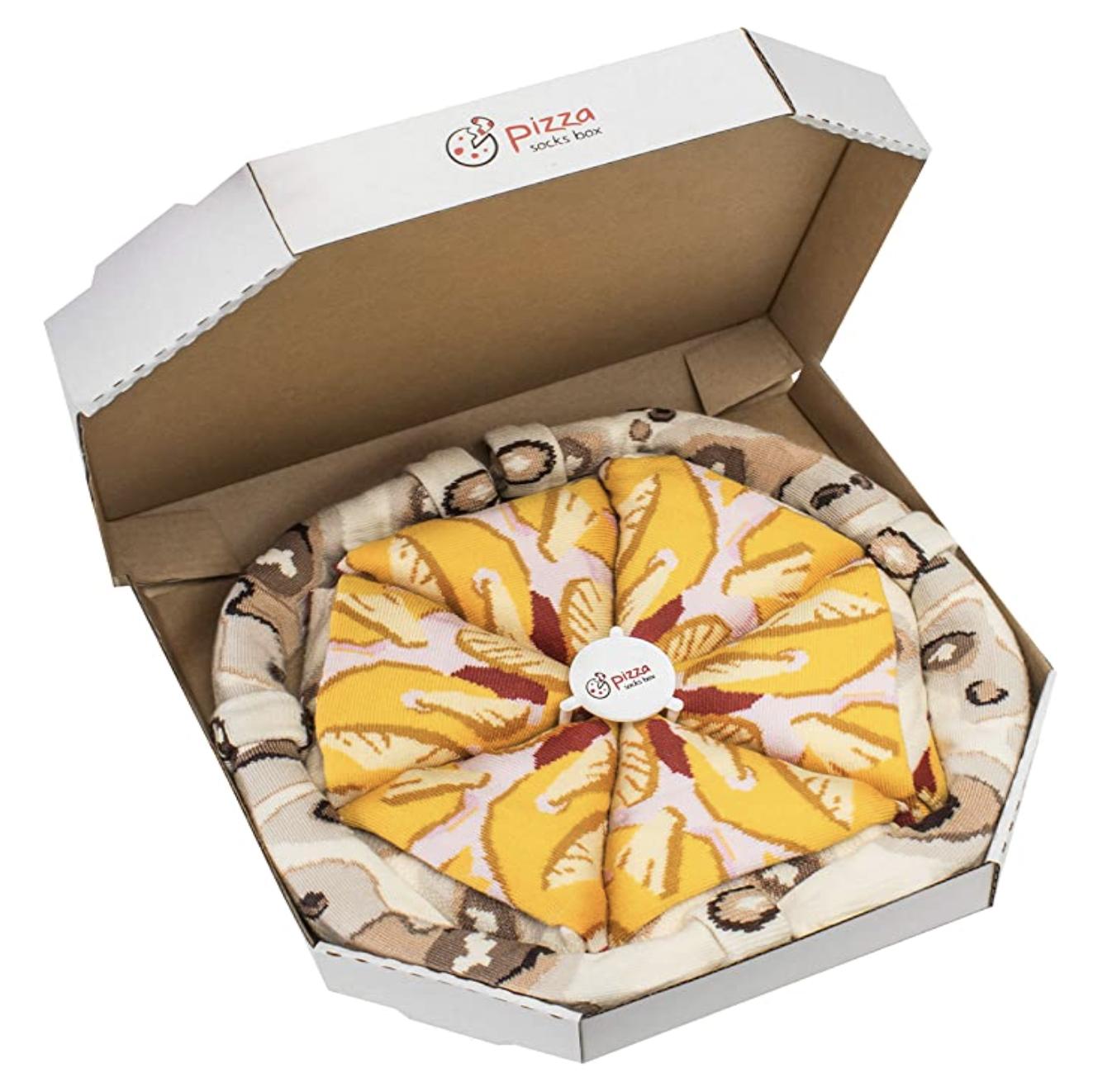 PIZZA SOCKS BOX Hawaii