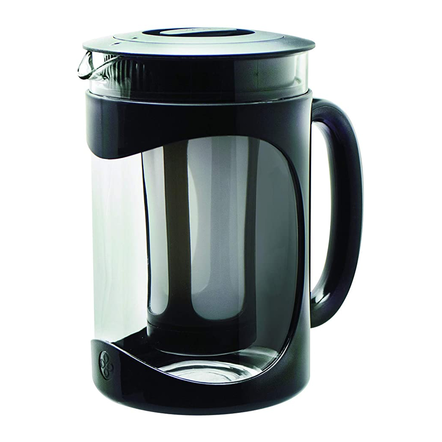 Black and clear small iced coffee maker by primula burke