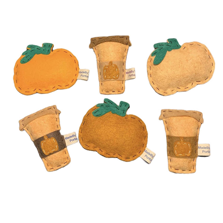 PSL | Pumpkin Spice Latte | Organic Catnip Cat Toy