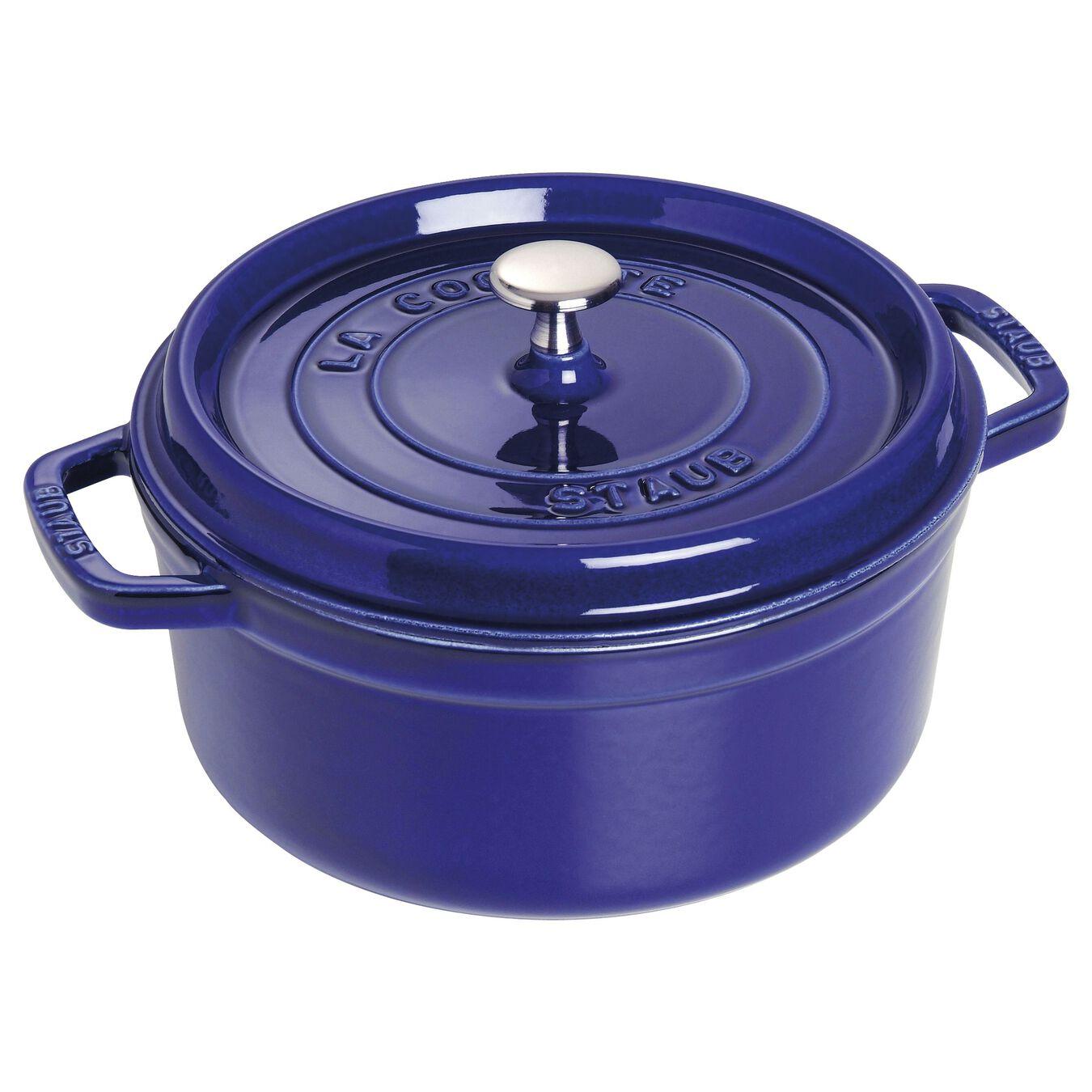 Staub 4-Quart Cocotte Dark Blue