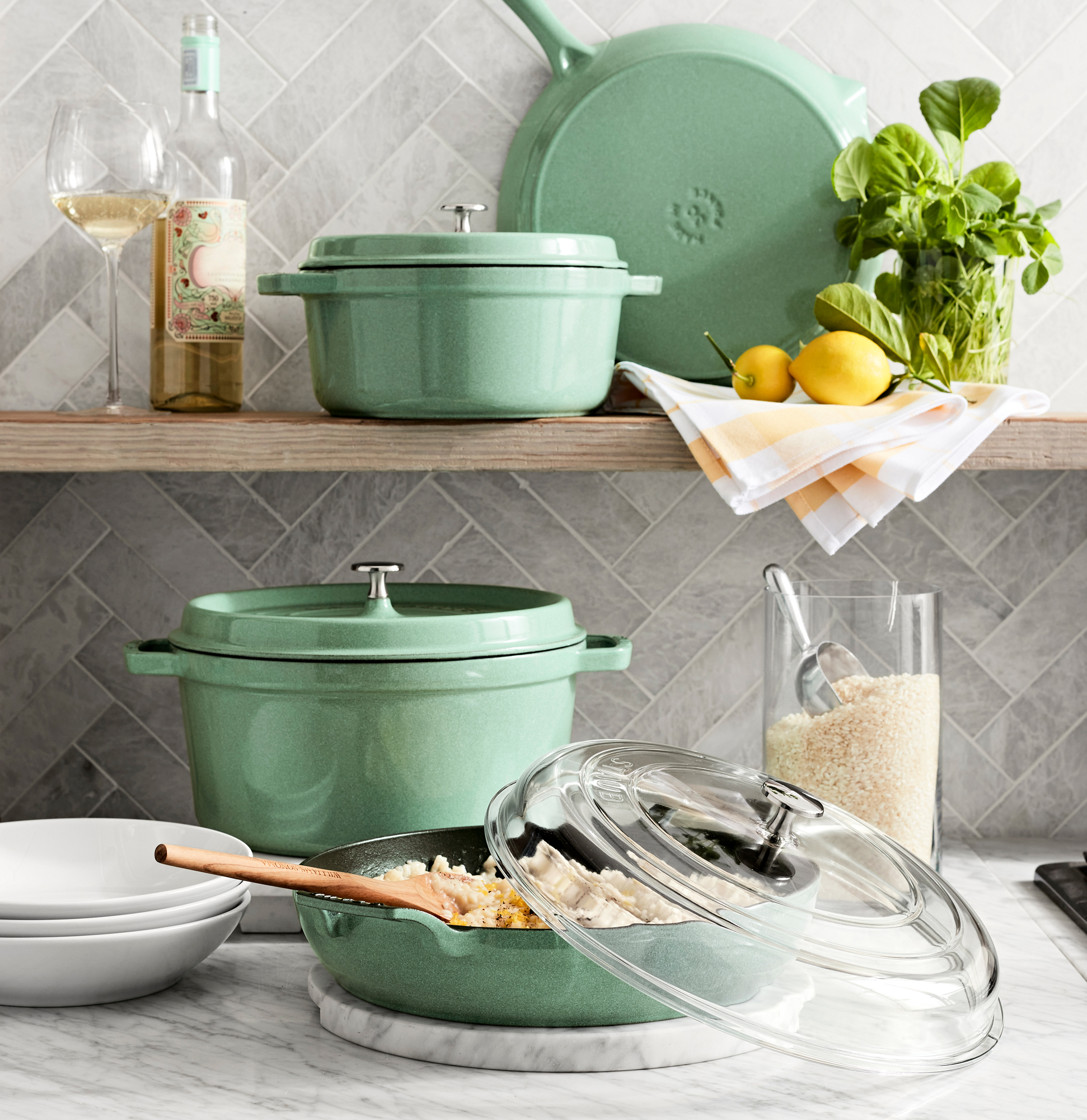 Staub Products in Sage
