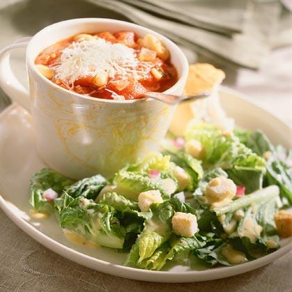 Romaine Salad With Tangy Lemon-Dijon Dressing