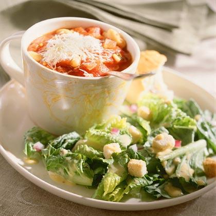 Tomato-and-White Bean Soup
